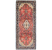 Link to 3' 7 x 9' Hamedan Persian Runner Rug