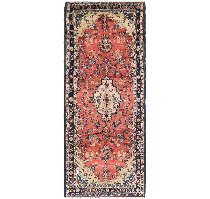 3' 7 x 9' Hamedan Persian Runner ...