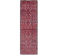 Link to 2' 8 x 9' Hossainabad Persian Runner Rug