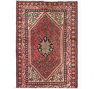 Link to 4' 3 x 6' 2 Hamedan Persian Rug