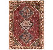 Link to 4' 5 x 6' 4 Hamedan Persian Rug