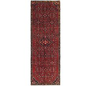 Link to 2' 8 x 8' 7 Hossainabad Persian Runner Rug