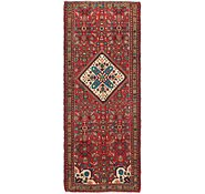 Link to 3' 4 x 8' 5 Hossainabad Persian Runner Rug