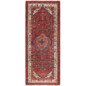 Link to 3' 5 x 9' Hossainabad Persian Ru... item page