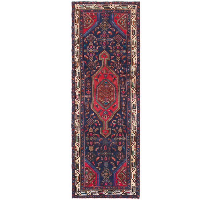 3' 3 x 9' 9 Mazlaghan Persian Runne...