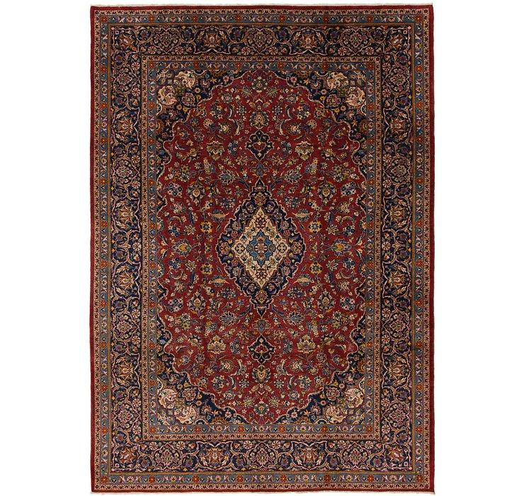 7' 8 x 11' 2 Kashan Persian Rug