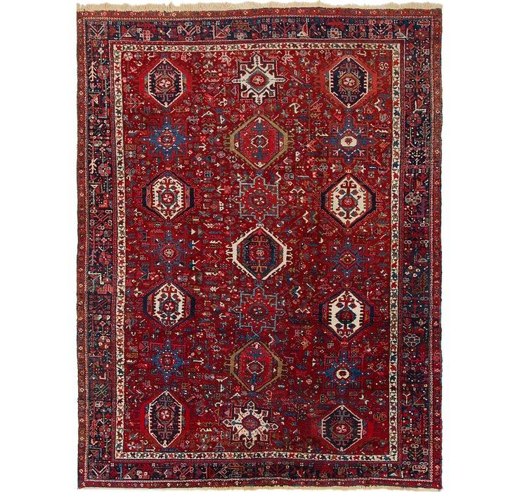 8' 3 x 11' 2 Gharajeh Persian Rug