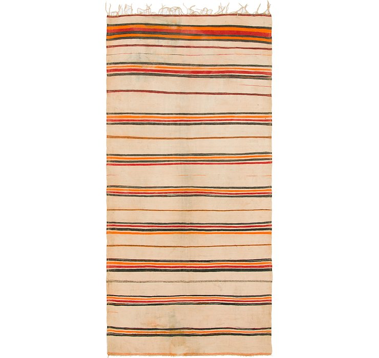 HandKnotted 5' x 11' 8 Moroccan Runner Rug