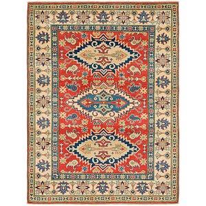 Unique Loom 5' 2 x 7' Kazak Rug