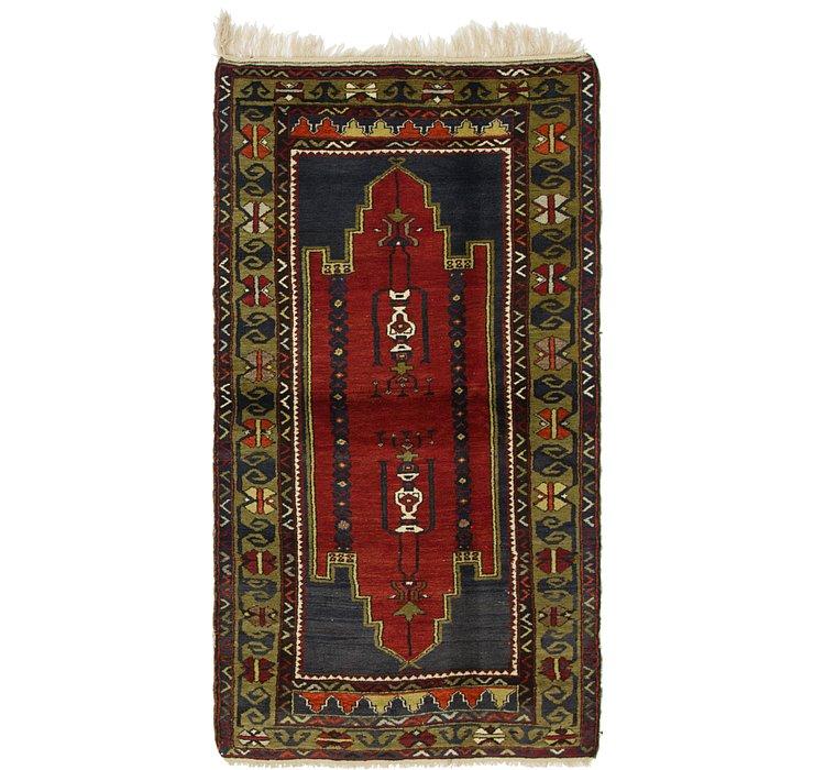 4' 5 x 8' Kars Oriental Rug