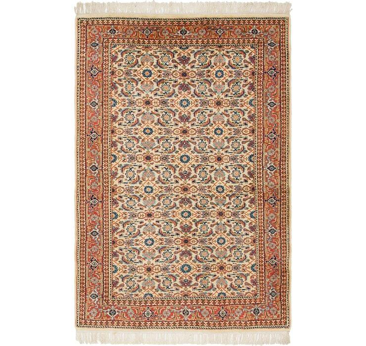 4' 5 x 6' 9 Bidjar Persian Rug