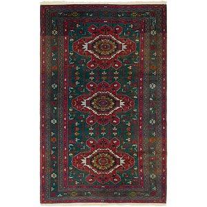 Unique Loom 4' 7 x 7' 7 Kazak Oriental Rug