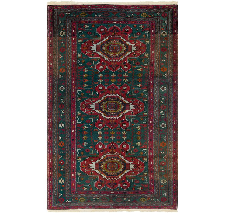 4' 7 x 7' 7 Kazak Oriental Rug