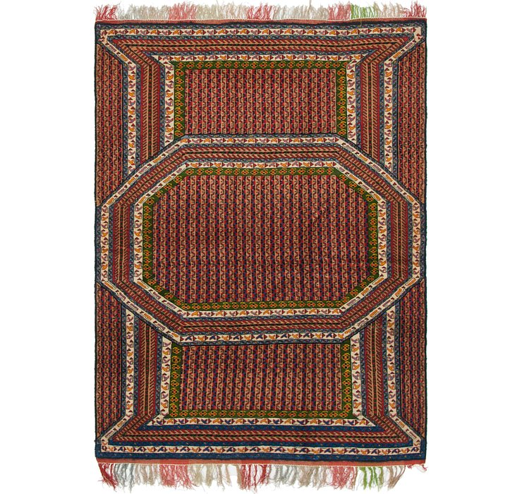 3' 9 x 5' 7 Yalameh Persian Rug