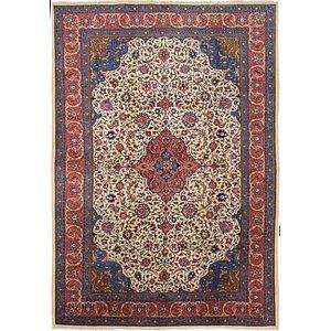 8' x 11' 5 Sarough Persian Rug