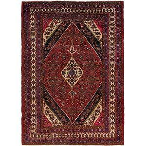 HandKnotted 7' 2 x 10' 2 Hamedan Persian Rug