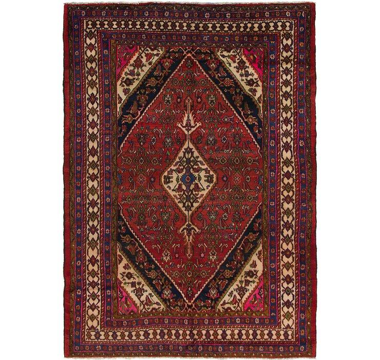7' 2 x 10' 2 Hamedan Persian Rug