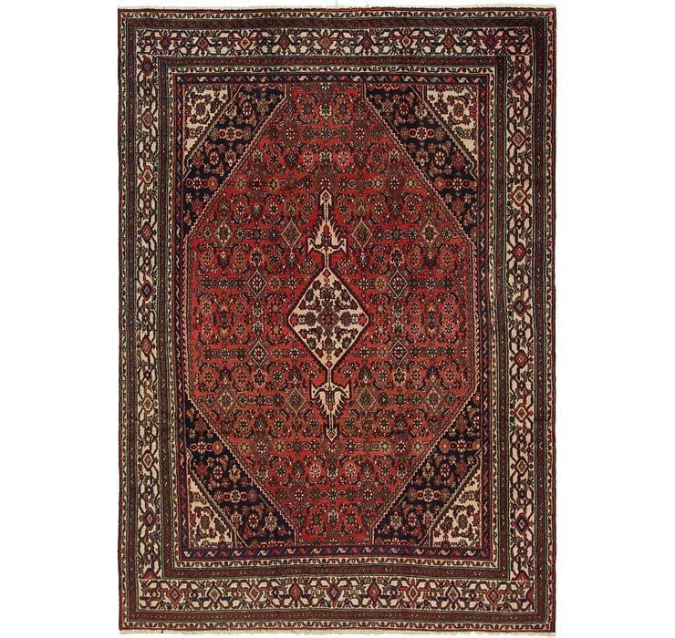 6' 8 x 9' 5 Hamedan Persian Rug