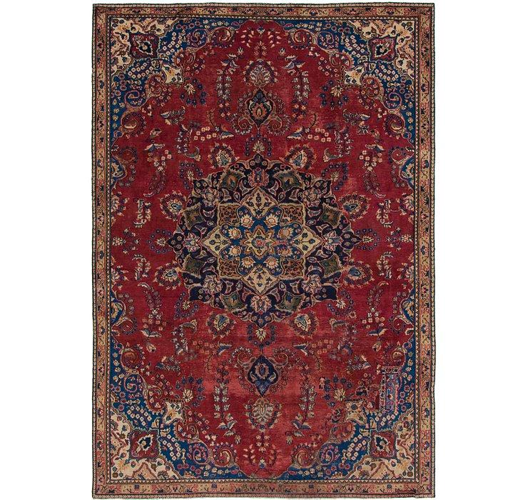 7' 4 x 10' 6 Mashad Persian Rug