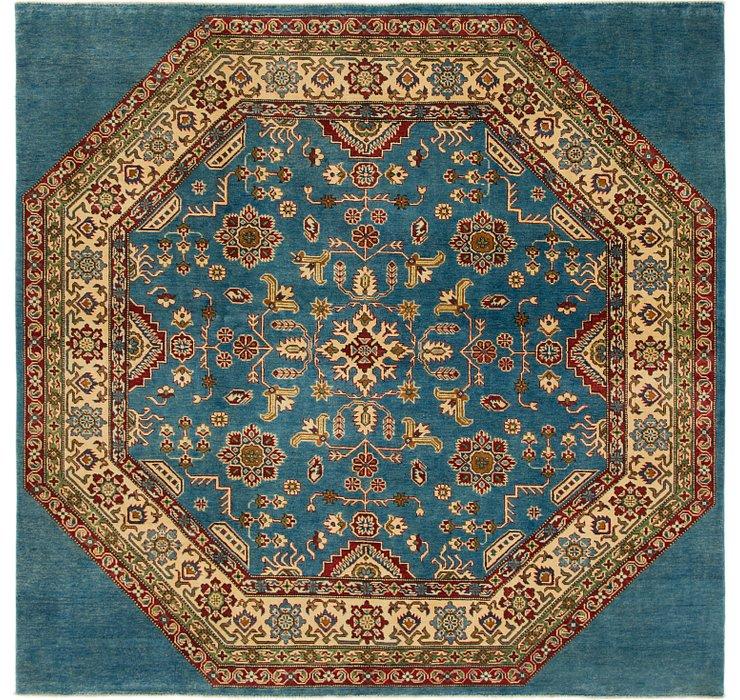 7' 7 x 7' 10 Kazak Square Rug