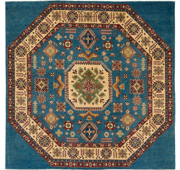 7' 10 x 7' 10 Kazak Square Rug