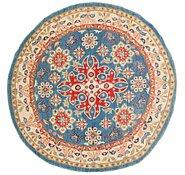 Link to 198cm x 203cm Kazak Round Rug