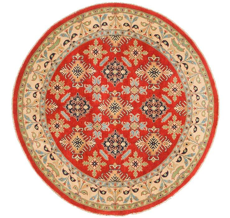 6' 3 x 6' 5 Kazak Round Rug
