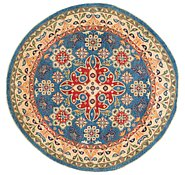 Link to 6' 6 x 6' 8 Kazak Round Rug