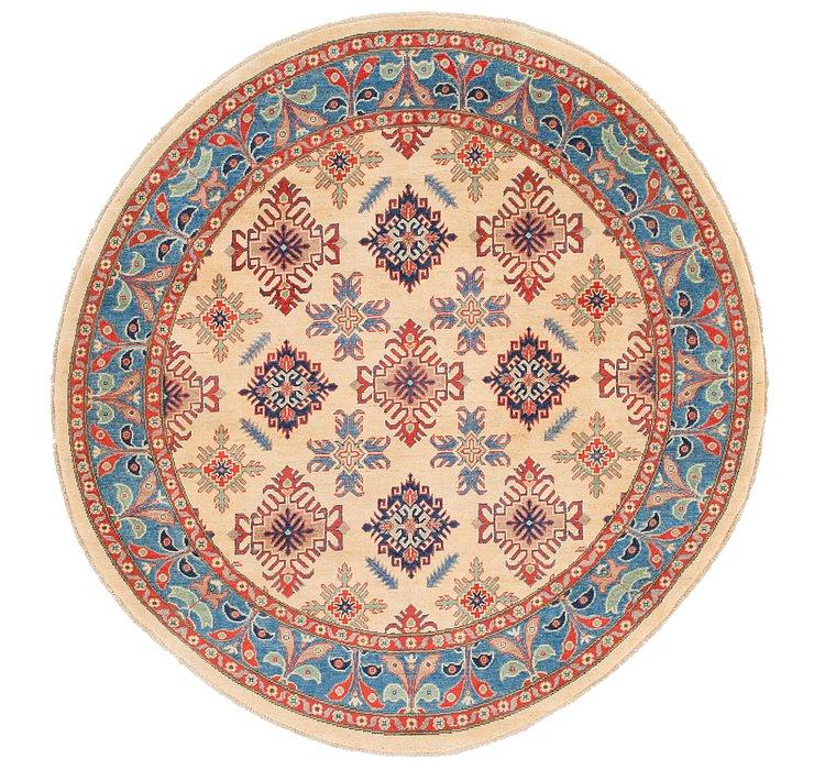 6' 5 x 6' 6 Kazak Round Rug