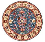 Link to 5' x 5' Kazak Round Rug