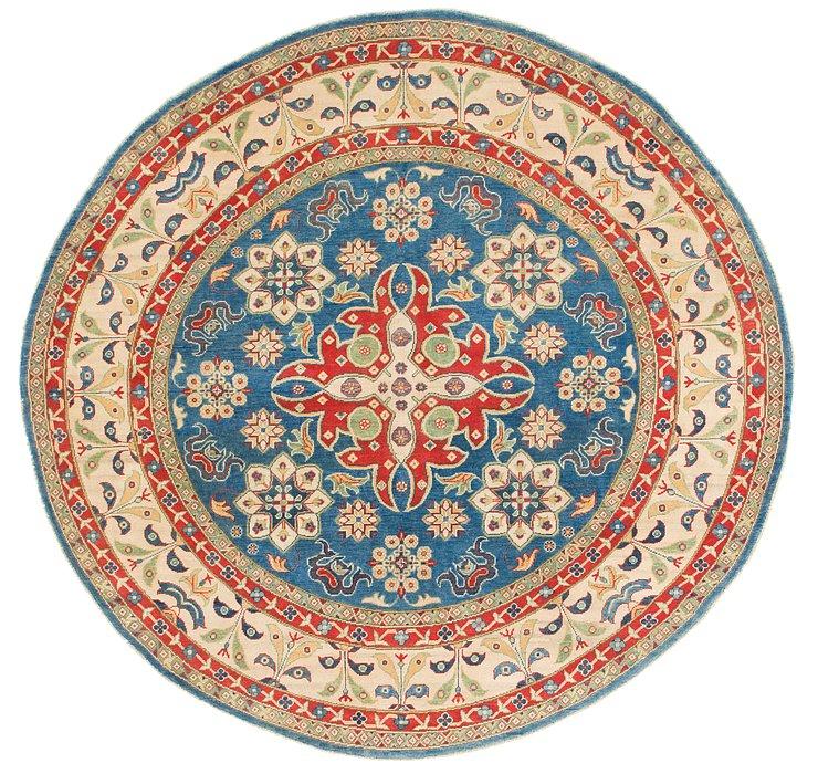 7' 6 x 7' 9 Kazak Round Rug