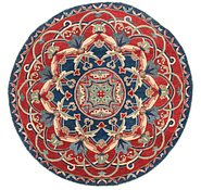 Link to 6' 5 x 6' 5 Kazak Round Rug