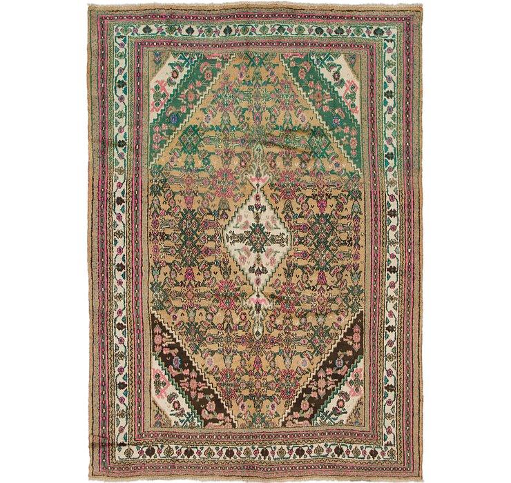 6' 10 x 9' 9 Hamedan Persian Rug