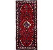 Link to 4' 3 x 10' Hamedan Persian Runner Rug