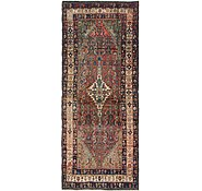 Link to 137cm x 340cm Hossainabad Persian Runner Rug