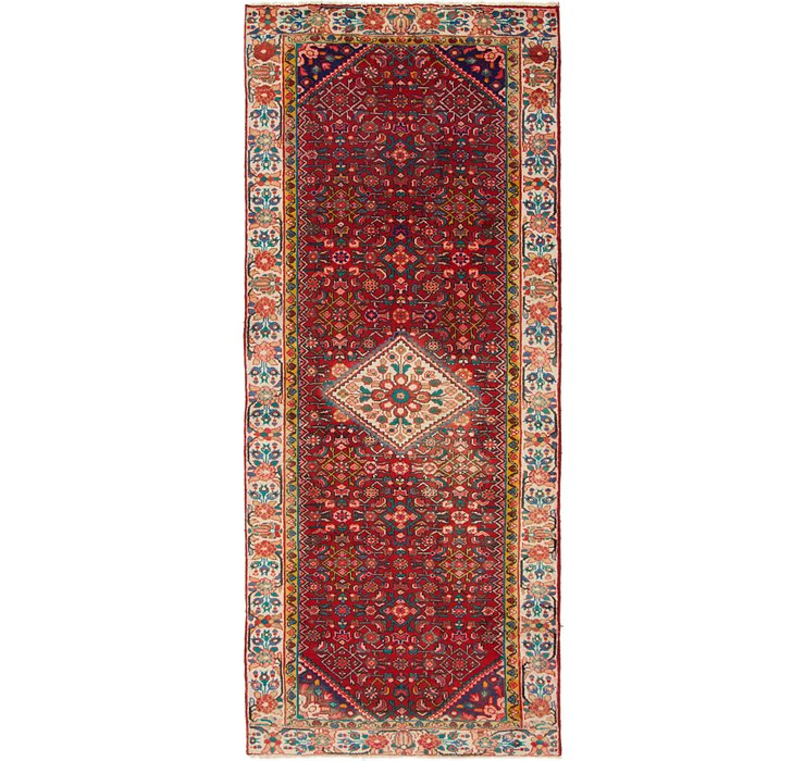 135cm x 328cm Hossainabad Persian Run...