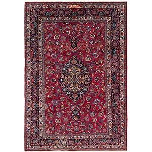 HandKnotted 6' 5 x 9' 6 Mashad Persian Rug