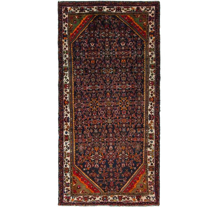 4' 8 x 9' 6 Hamedan Persian Rug