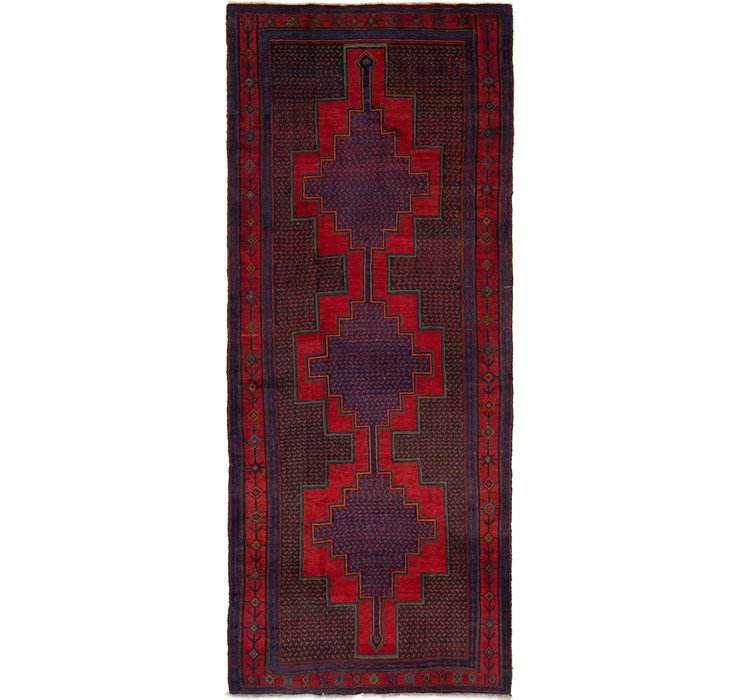 5' x 12' 6 Sanandaj Persian Runner...