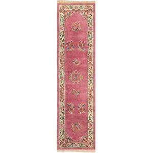 2' 10 x 11' 5 Antique Finish Runner Rug