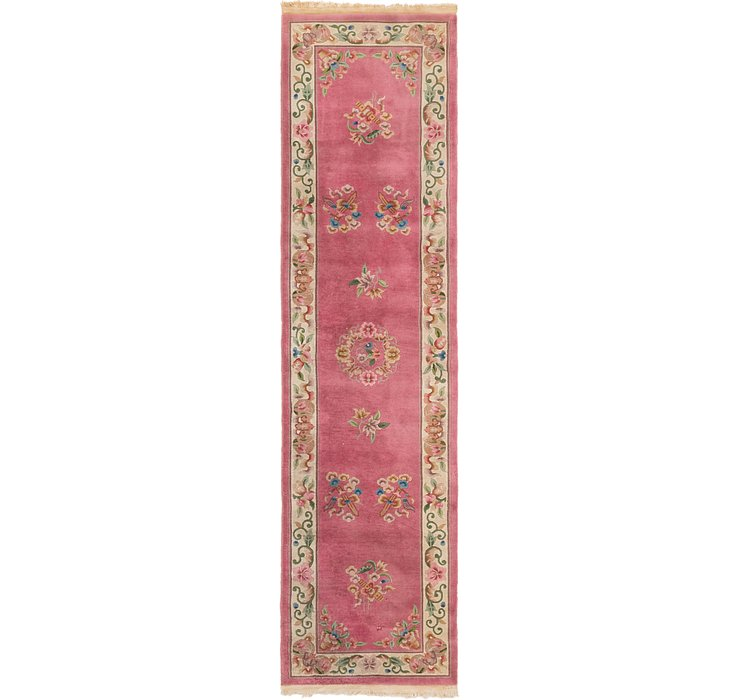 85cm x 348cm Antique Finish Runner Rug