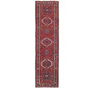 Link to 3' x 11' 4 Gharajeh Persian Runner Rug