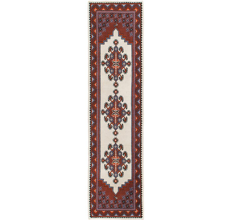 2' 9 x 10' 8 Moroccan Runner Rug