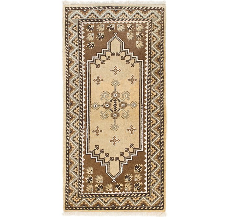HandKnotted 2' 9 x 5' 5 Moroccan Rug