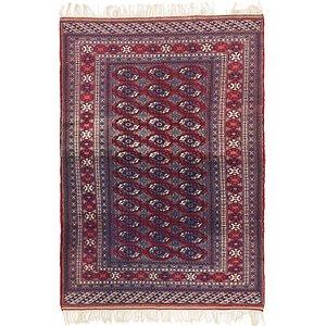 Unique Loom 4' 2 x 7' 4 Bokhara Oriental Rug