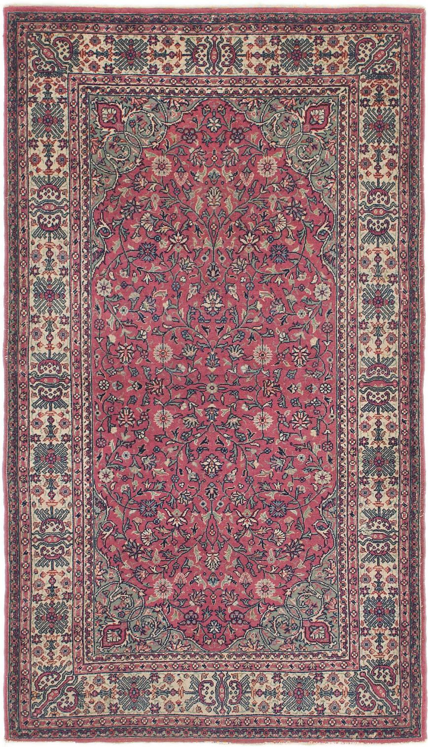 Red 3 4 X 6 Kashmir Oriental Rug Oriental Rugs Esalerugs