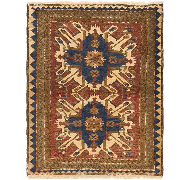 HandKnotted 4' 3 x 5' 4 Kars Rug