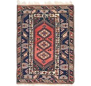 Link to 4' x 5' 6 Balouch Persian Rug