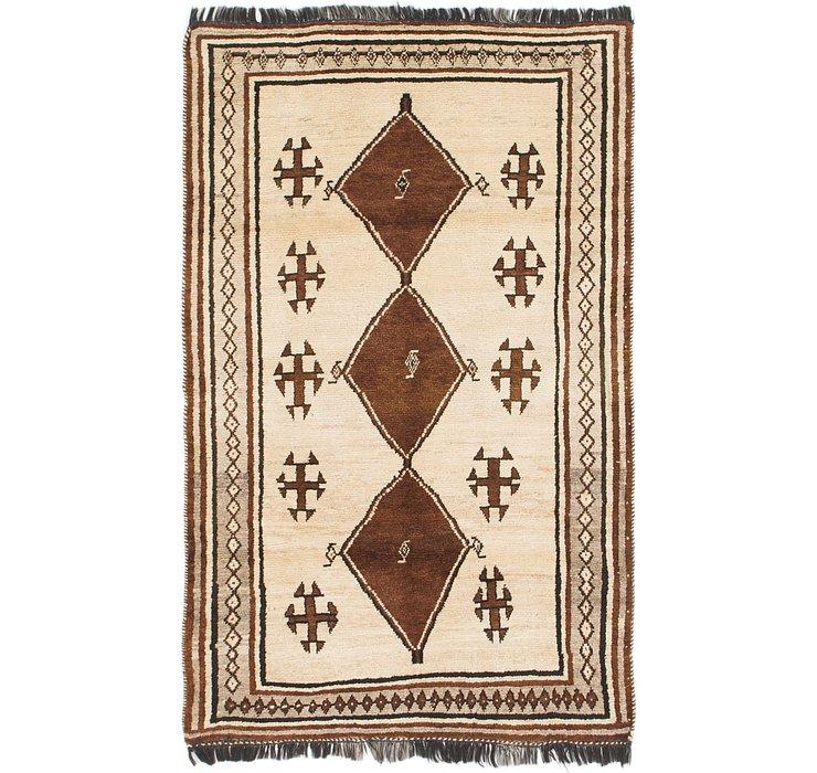 4' x 6' 3 Shiraz Persian Rug