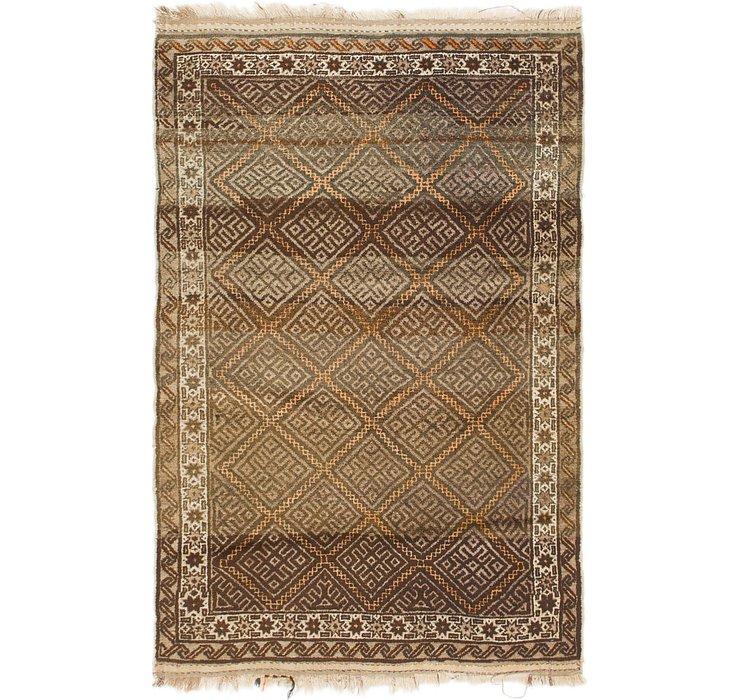 4' x 6' 7 Shiraz Persian Rug